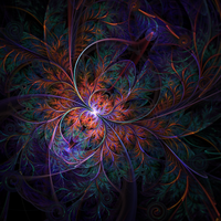 Forest Bug fractal by OxxyJoe