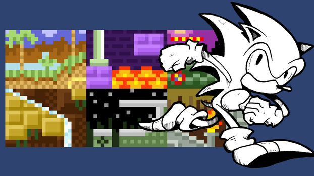 Sonic the Hedgehog Wallpaper 1920 x 1080 by Jayextee