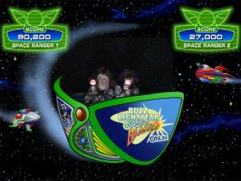 Frollo Hats on Buzz Lightyear's Astro Blasters by ChristineFrollophile