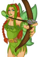 Illusen the Earth Faerie by Animangas