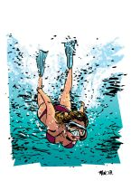 Deep Diver by t-drom