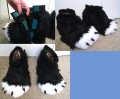 Gothy Foot Paws by PocketWolfCollection