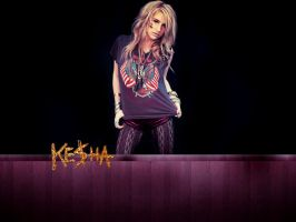 Ke$ha wallpaper by Bess-chan