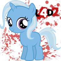 Left 4 dead 2 pony icon by Nerve-Gas