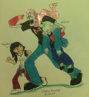 Markirus and septicsans ft Teagiplier by stephanieshadowmarie