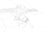 Moana lineart by Biscuitmonstergirl1