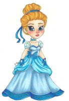 Chibi Fantasia Cinderella by chelleface90