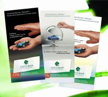 'Talisman' Flyers by Siteograph