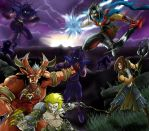The legendary Red Oni -Collab- by ultranic-comics