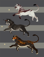 Big Cat Design Sales 4 - CLOSED! by NadiavanderDonk