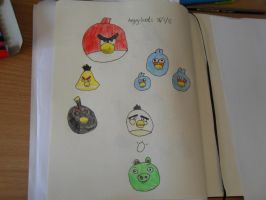 Angry birds by Taco-Cheese-Dog