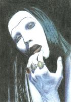 Marilyn Manson ate my soul by clarity-insanity