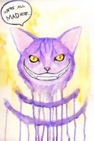 Cheshire Cat is Mad by BurningOn