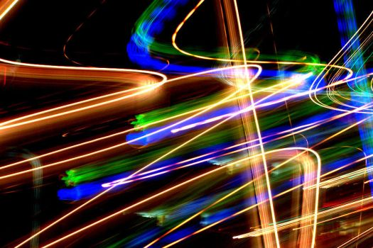 Spiraled Lights II by Vidnel