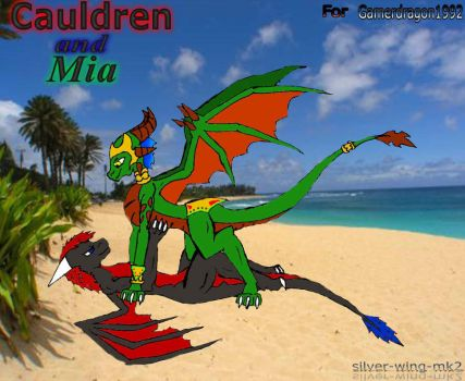 Calderon and Mia request part 2 (with story) by Gamerdragon1992