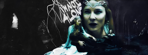Galadriel / I'm not alone by CaptainPedroH