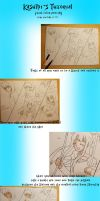 First Drawing Tutorial by KasumiKetchum