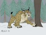 Arctic Animals: Saber-toothed Lynx by Mara999