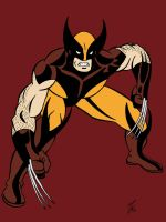 Toon Marvel - Wolverine (Colored) by edCOM02