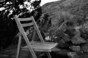 Sitting Chair by M-Lewis