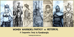 Essay - Women Warriors: Fantasy vs Historical by Gambargin