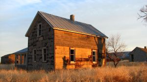 Creeky Old Farmhouse III by FoxStox