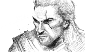 Geralt of Rivia by sdellapina