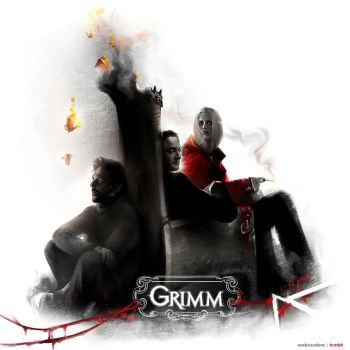 Smoke, Mirrors, Blood :: Grimm by erebus-odora