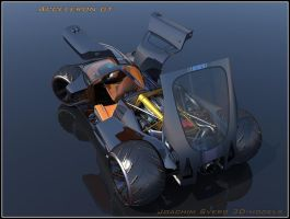 Supercar Concept44 Doors Open by Scifiwarships