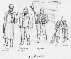 Les Miserables sketch page 2 by Nyranor