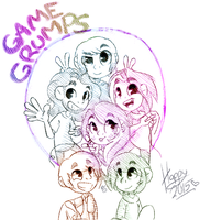 GAME GRUMPS by bookshelph