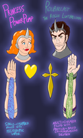 My Vesicastralan Characters by CyberneticCupcake