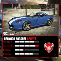 Bravado Banshee GTA V by juniorbunny