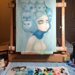 Cats And Dogs Wip by camilladerrico
