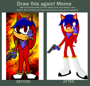 Meme  Before And After by FiringTyphoon