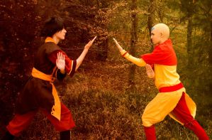 Zuko and Aang by Ellyana-cosplay