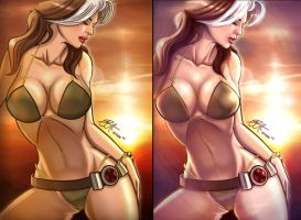 Rogue Swimsuit updated by gidge1201