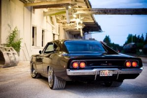 1968 Dodge Charger by OkamIGrey