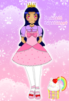 Magical Sweets: Princess Sweetheart (new look!) by Miss-Gravillian1992