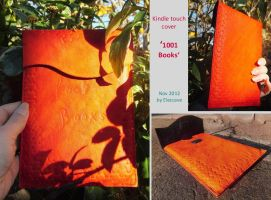 Kindle touch cover / sleeve '1001 Books' by Elescave