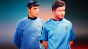 Spock and McCoy by Dave-Daring