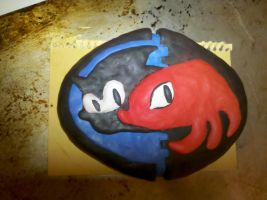 Sonic and Knuckles by souffle-etc