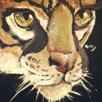 Ocelot Painting by Riivka