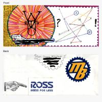 Mailart to Antic Ham by JimmyMcCullough