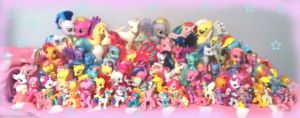 Entire Pony Collection by TheUndertakersKitty