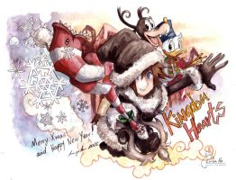 KH Xmas New Year 2012 by eikomakimachi