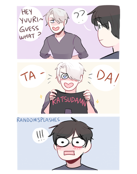 YOI: KATSUDAMN by Randomsplashes