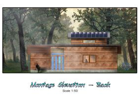 My Cabin - Elevation Montage B by TheMrStick