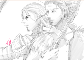 Like Old Times WIP by Countess-Noir