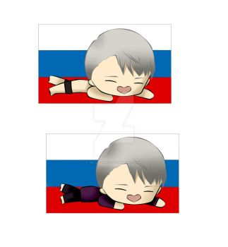 Victor flag ver. by Millie-Mirii